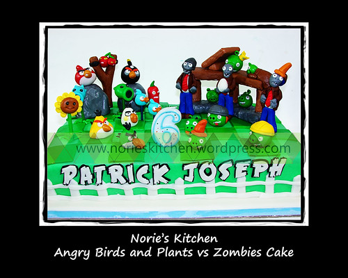 Norie's Kitchen - Angry Birds Cake 42 by Norie's Kitchen