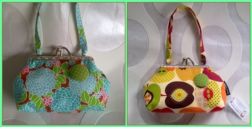 Mala de mão ou porta moedas grande by ♥Linhas Arrojadas Atelier de costura♥Sonyaxana