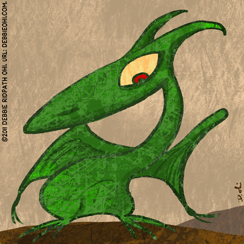 Daily Drawing: Texture Dragon