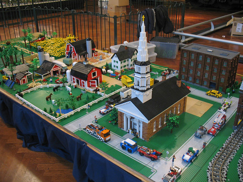 Michigan LEGO Train Club Display at The Henry Ford - 2011