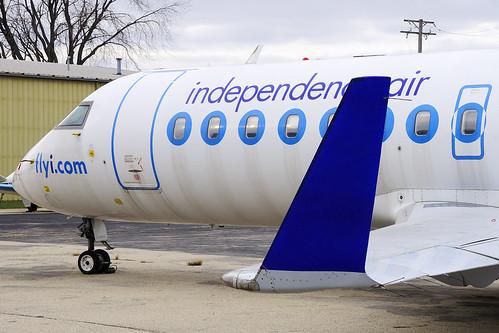 Independence Air Bombardier CRJ-200ER (N640BR)
