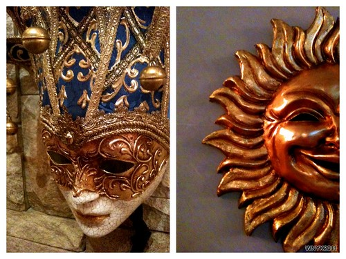 Venetian Masks by williamnyk
