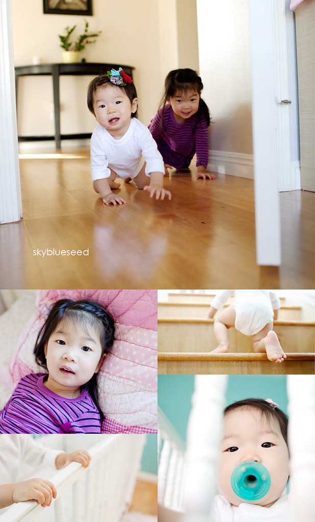 Kim Girls Crawling