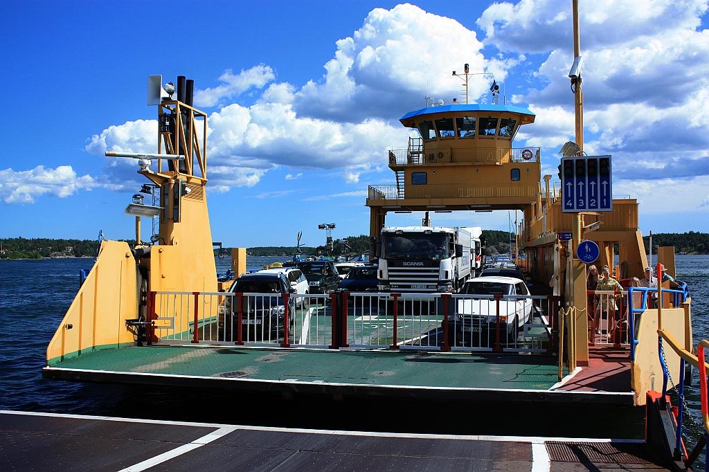 Roslagen Vaxholm ferry Rindö