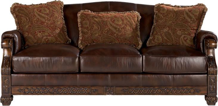 Leather Sofa   Sofa by Decorium Furniture Chicago. www.decor ...
