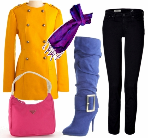 Dress Up for Cold days Look 2