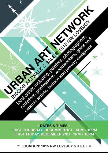 Urban Art Network Portland Holiday Art Sale