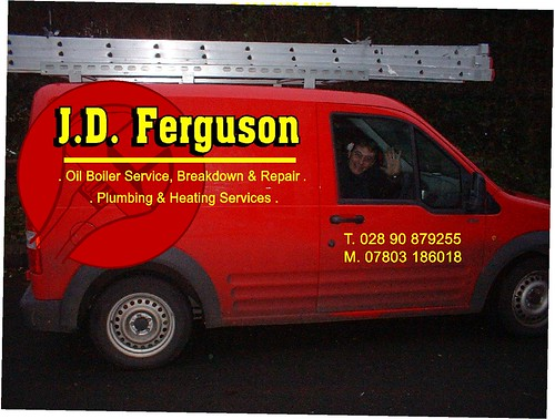 VINYL GRAPHICS ON JD FERGUSON VEHICLE
