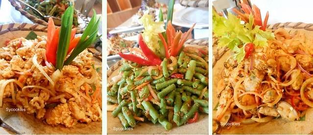 4.seafood salad