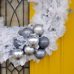 DIY Upcycled Winter Wreath