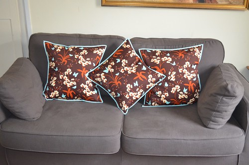 Joel Dewberry Ginseng cushions