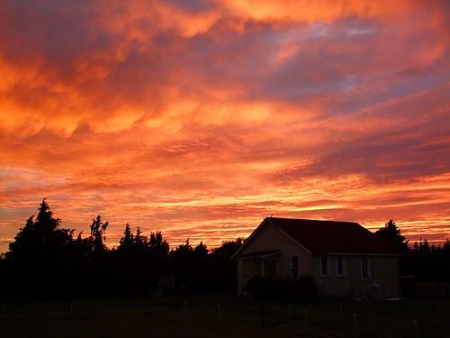 sunset newzealand landscape day93 wairarapa greytown 3652012 365the2012edition 02042012