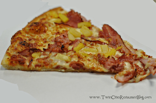 Hawaiian Pizza at John's Pizza Cafe ~ St Paul, MN