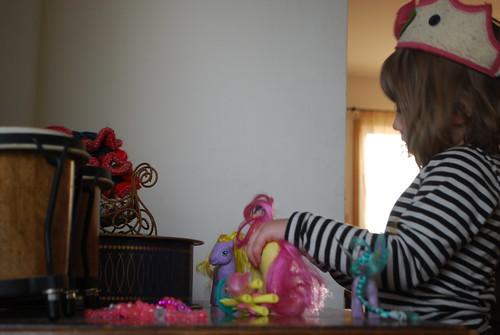 girl ponies