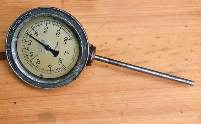 rotary thermometer
