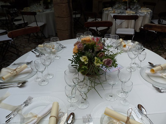 Vintage Wedding Table centerpiece