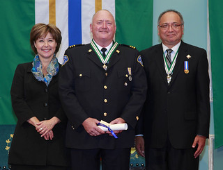 Tim Jones  is awarded the Order of British Columbia