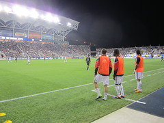 DCU subs at PPL Park