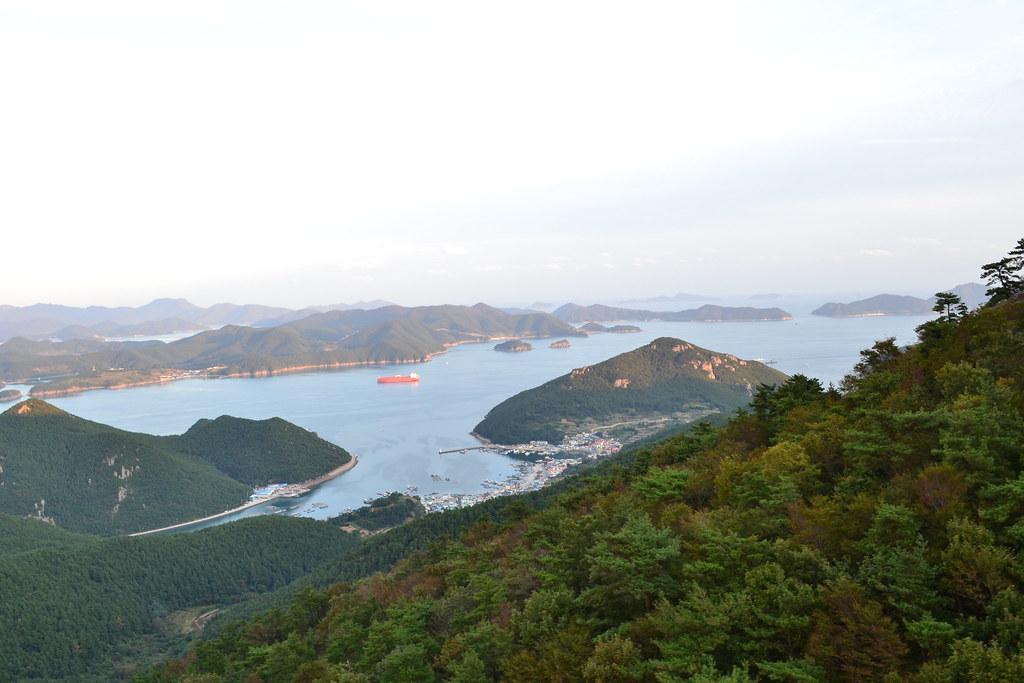 East Korean Bay Islands in the ...