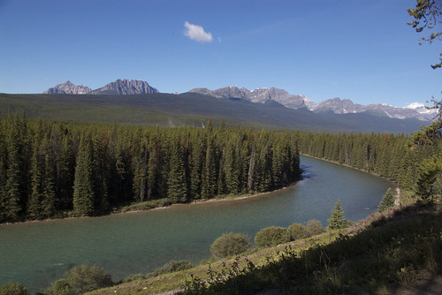 Canadian Rockies from the Bow Valley Parkway