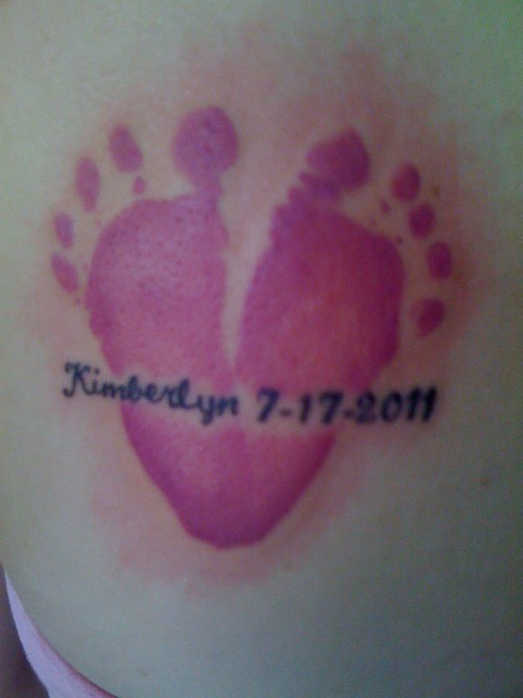 Baby Foot Print Tattoo | Flickr - Photo Sharing!