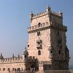 Изображение Башня Белем вблизи Algés. portugal lisboa lisbon