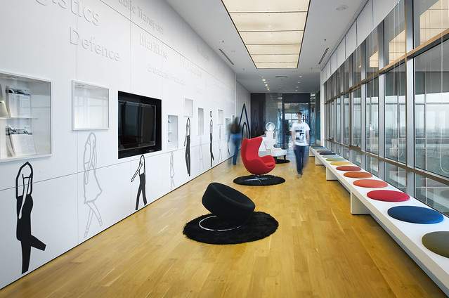 Creative Office Design By M Moser Associates Flickr