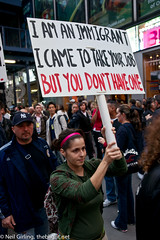 I am an immigrant: I came to take your job but you don't have one.