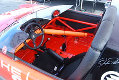 Cockpit of the famous Richie Ginther 914-4, terror of the SCCA