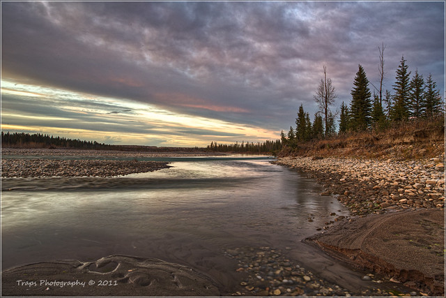 The Red Deer River