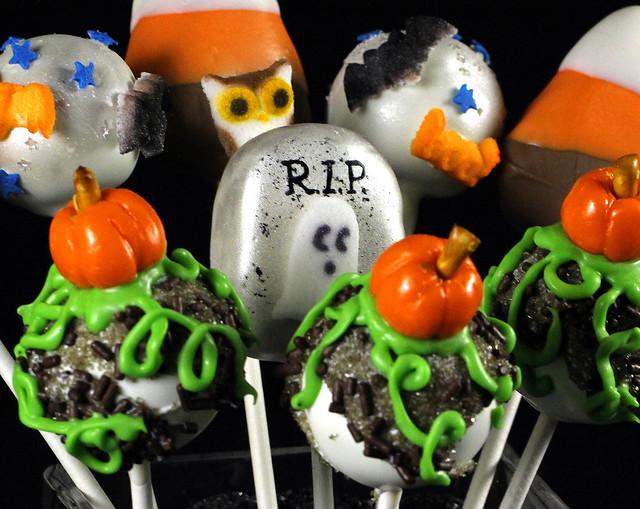 Halloween Cake Pops | Flickr - Photo Sharing!
