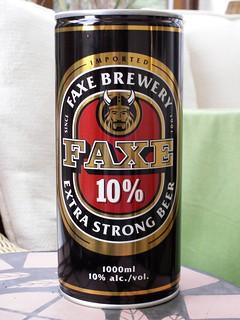 Faxe, 10% Extra Strong, Denmark