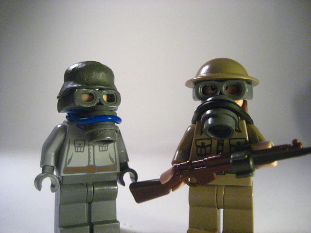 Lego Ww1 Gas Mask S So My Newest Edition To The Gas Mask