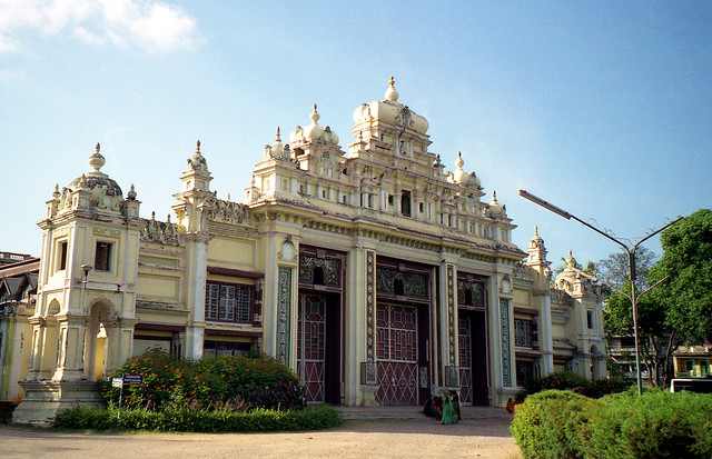 The Jaganmohan Palace In Karnataka