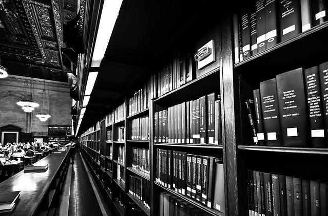 New-York public library, par Franck Vervial