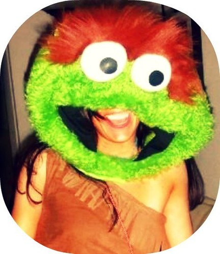 Oscar the Grouch by Ticklemeorange is snoozing good dreams:)