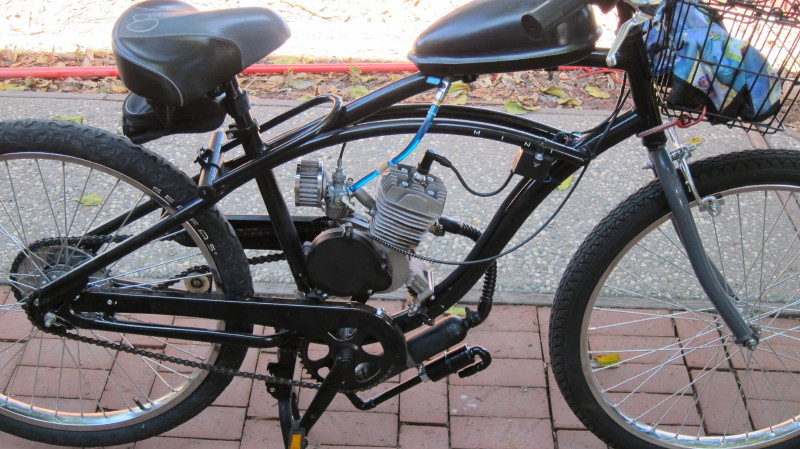 Op Roller With Starfire 66 400 Motorized Bicycle Engine Kit Forum