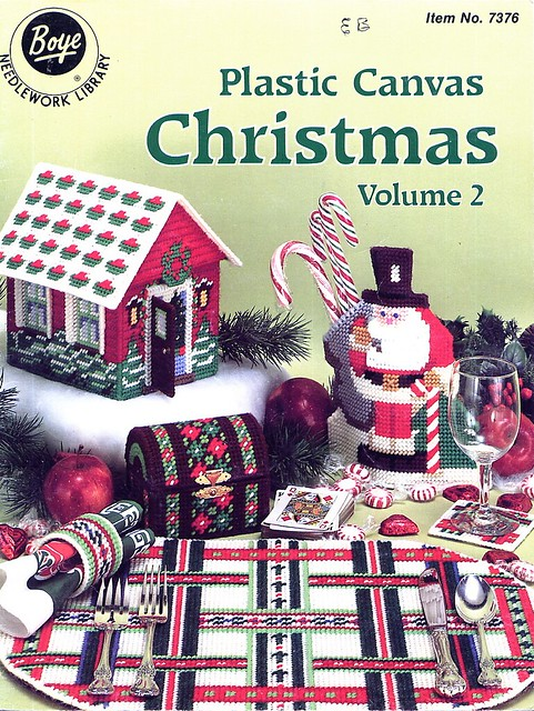 Free Christmas Plastic Canvas Patterns