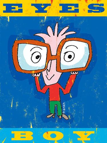 eyes boy // el niño de los ojos by Frank.Hilzerman