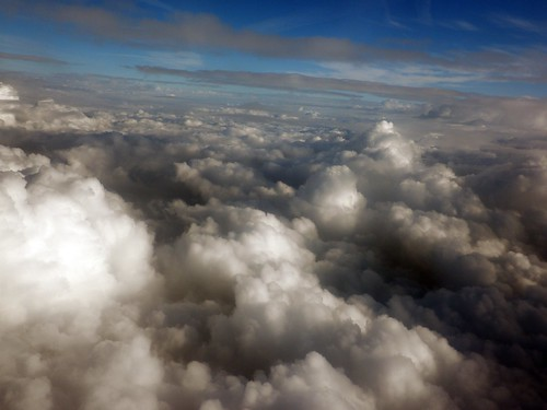 Nubes desde el avión - Clouds from the plane