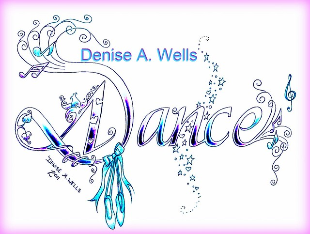 dance tattoo design by denise a wells flickr photo sharing. Black Bedroom Furniture Sets. Home Design Ideas