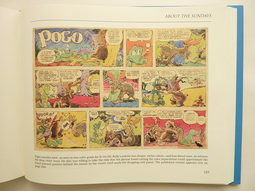 "Pogo - Vol. 1 of the Complete Syndicated Comic Strips: ""Through the Wild Blue Wonder"" by Walt Kelly - page"