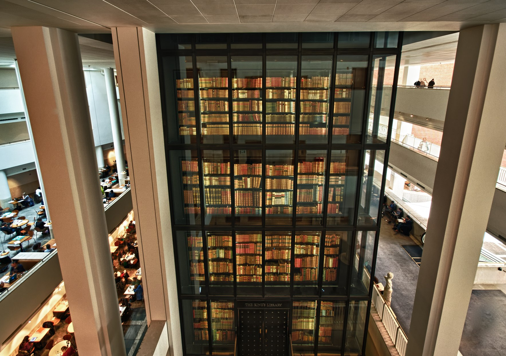 British Library Interior HDR