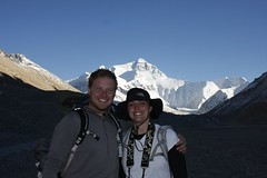 Joe and Holly at Everest