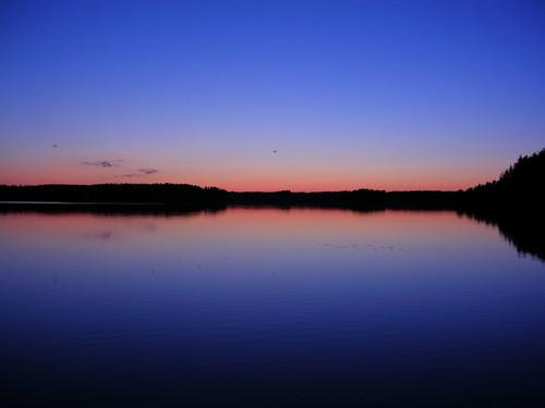 lake water dusk
