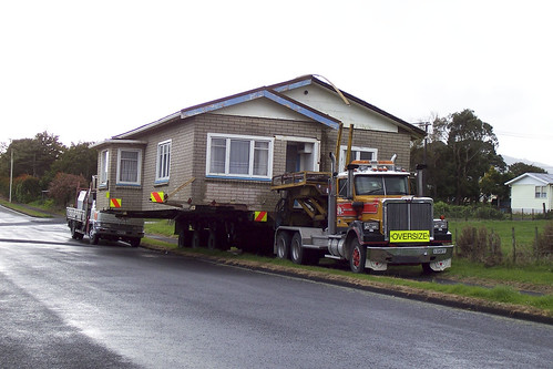 Moving house New Zealand style