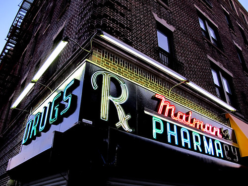 Maiman's Pharmacy, Crown Heights, Brooklyn, NY