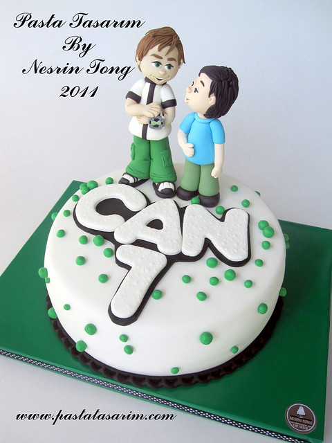 BEN 10 CAKE - CAN BIRTHDAY