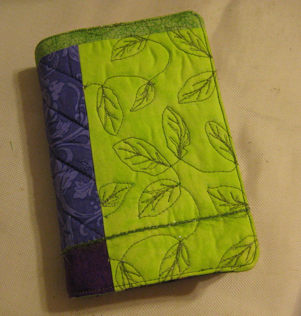 Quilted Book Cover Pattern : Quilted book cover flickr photo sharing