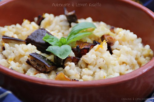 Aubergine & Lemon Risotto 3